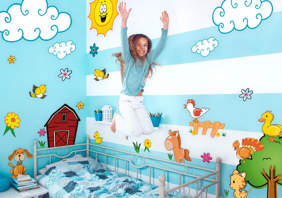 Naklejki Scienne Dzieci Tifipl Dekoracja ścian Fototapety